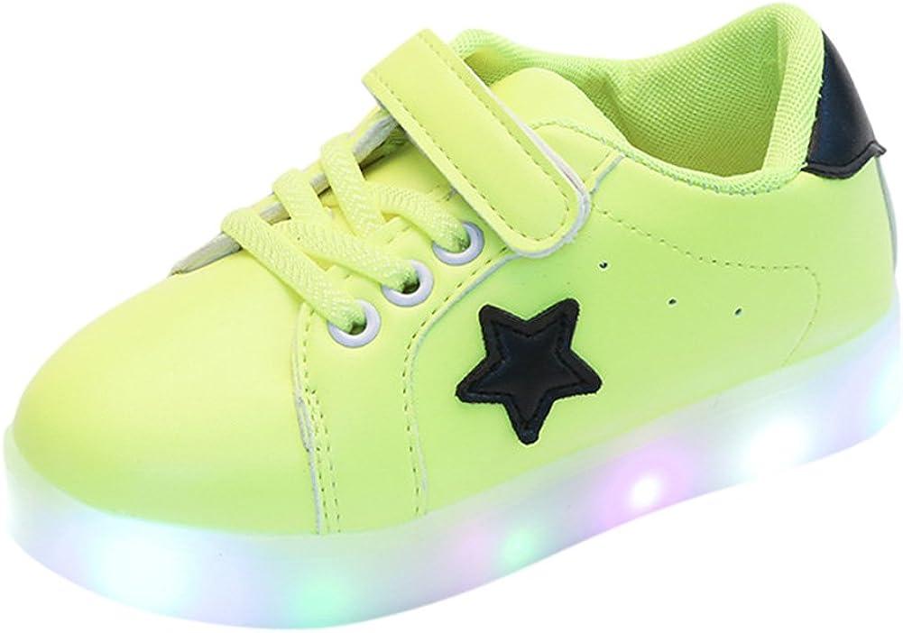 Genda 2Archer LED Light Up Fashion Sneakers for Toddler Little Kids