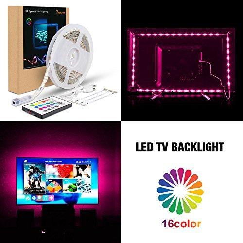 Bias Lighting for HDTV USB Power LED Strip,Waterproof RGB TV