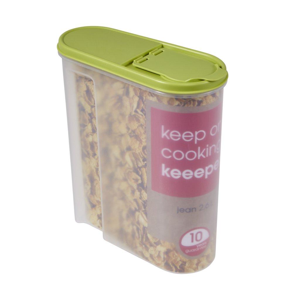 Unbekannt Okt 10418279000Contenitore per Cereali, 2,6Litri, Colore: Verde