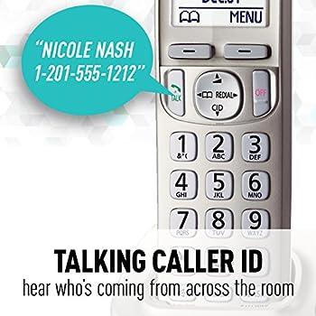 Panasonic Kx-tgd223n Dect 6.0 3-handset Landline Telephone 18