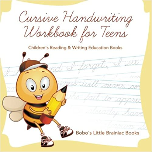 `UPD` Cursive Handwriting Workbook For Teens : Children's Reading & Writing Education Books. house Santo without horas Genital