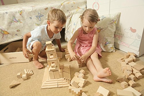Natural Toddler Wood Puzzles For Preschoolers - Stem Games,Toys For 4 5 Year Old Boys, Girls, Children. Smart Playing Activities For Indoor,Outdoor. Learning Building Mega Blocks For Kids 3,6,7 Yrs.