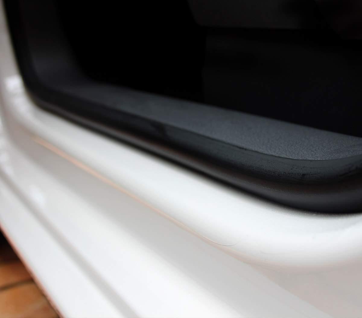 150/µm transparent Einstiegsleisten T/üreinstiege Einstiege passend f/ür Modell mit Dekoreinlagen Siehe Beschreibung Lackschutzshop