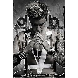 Justin Bieber- Purpose Album Cover Poster 24 x 36in