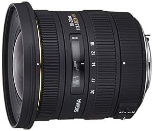 Sigma 10-20mm f/3.5 EX DC HSM PAF - Objetivo para Pentax (distancia focal 10-20mm, apertura f/3.5, diámetro: 82mm) color negro - Para Pentax