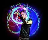 EmazingLights 4-LED Spinning Orbit: Orbite-X3 - Lightshow Orbital Rave Light Toy (Clear Casing)