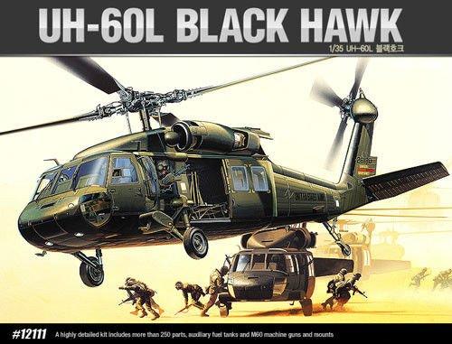 (ACADEMY_1/35scale model kit UH-60L BLACK HAWK FA189(2192))