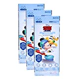 Filter 3D Mask Set of 3 for Children, Size Small, Anti Air Pollution Safe and Clean Air (Mickey Mouse)