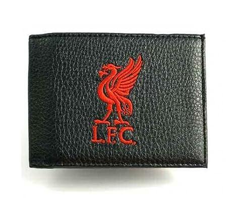 Official Football Merchandise Geldbörse Leder mit Stickerei-Team Foot