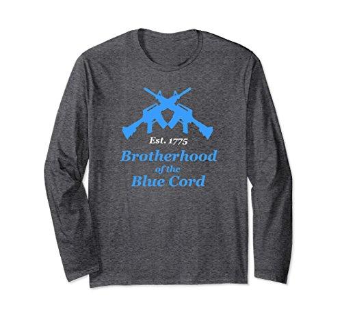 Unisex Brotherhood Of The Blue Cord - Infantry Long Sleeve Shirt Small Dark - Sleeve Long Brotherhood