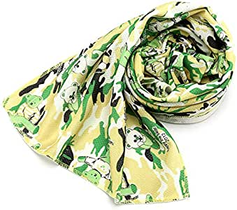 Ice Fabric Summer Outdoor Sports Yoga Camouflage Cool Towel - Multi Color