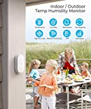 Govee Indoor Outdoor Thermometer, WiFi Hygrometer