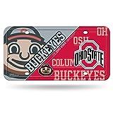 NCAA Ohio State Buckeyes Metal Auto Tag