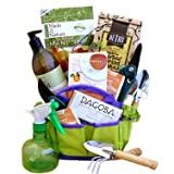 Organic Gourmet Snacks Gardeners Tote | Great Fathers Day Gift Idea for Him