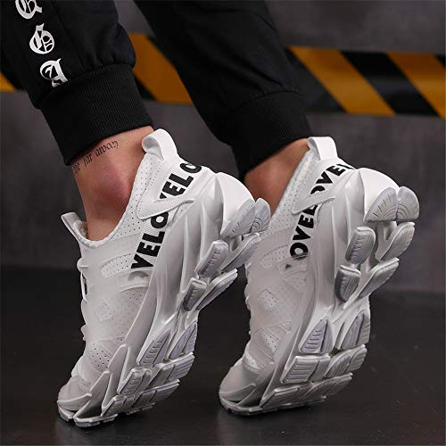 Athletic Hommes Watelves De Casual Gym dwl Mode Mesh Respirant Lgres Course Sports Marche White Baskets Jogging Chaussures OSrOw