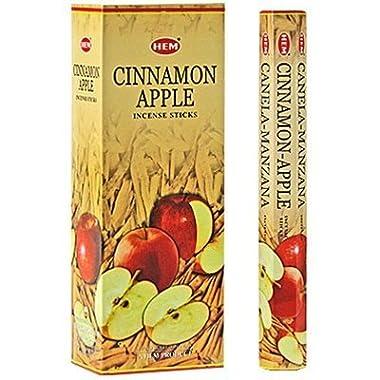 Cinnamon Apple - Box of Six 20 Stick Tubes - HEM Incense