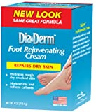 DiaDerm Foot Rejuvenating Cream, Blue, 4 Ounce