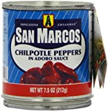 San Marcos Chipotle Peppers, 7.5-Ounce Cans (Pack of 24)
