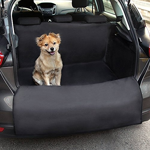 Cargo Protection - Docamor Trunk Cargo Liner for Dogs-Dog Car Seat Covers for SUV-Waterproof Dog Hammock with Side Protection-Quick Installation Anti-Scratch Nonslip Washable Nonslip Washable Pet Car Seat Cover