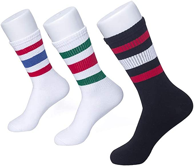 Outdoor Sports Socks Short Striped Sweat-absorbent Anti-slip Casual Socks Unisex