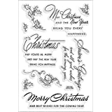 Stampendous SSC1068 Christmas Wishes