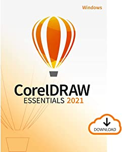 CorelDRAW Essentials 2021 | Graphics Design Software for Occasional Users | Illustration, Layout, and Photo Editing [PC Download]