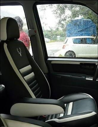 Frontline Pu Leather Car Seat Cover For Honda Wrv Amazon In Car