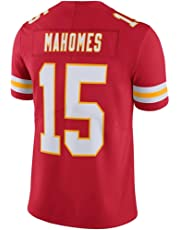 #15 Patrick_Mahomes Red Season Vapor Limited Jersey for Men Women Youth