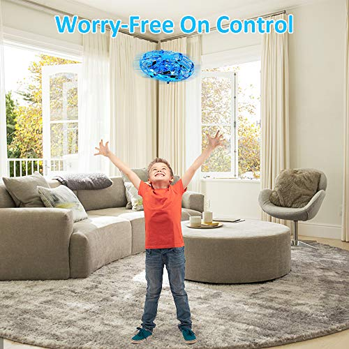 Tesoky Cool Toys for 3-12 Year Old Boys Girls, Hand Operated Drone for Kids Cool Toys for Boys 3 and Up Fun Toys for Kids 3-12 New Toys for 3-12 Year Old Boys Gifts 3-12 Year Old Girls Teen FT02