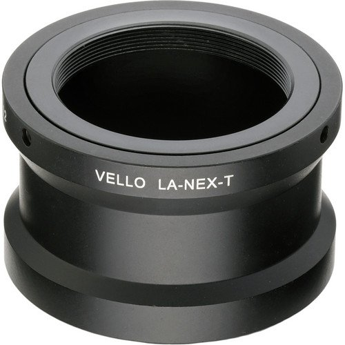 Vello T Mount Lens to Sony NEX Camera Adapter