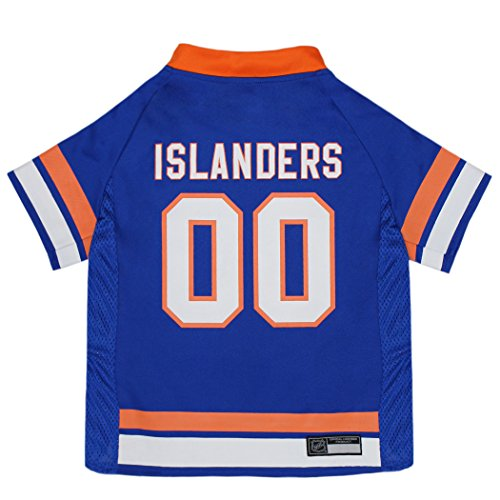 NHL New York Islanders Jersey for Dogs & Cats, X-Large. - Let Your Pet be a Real NHL Fan! ()