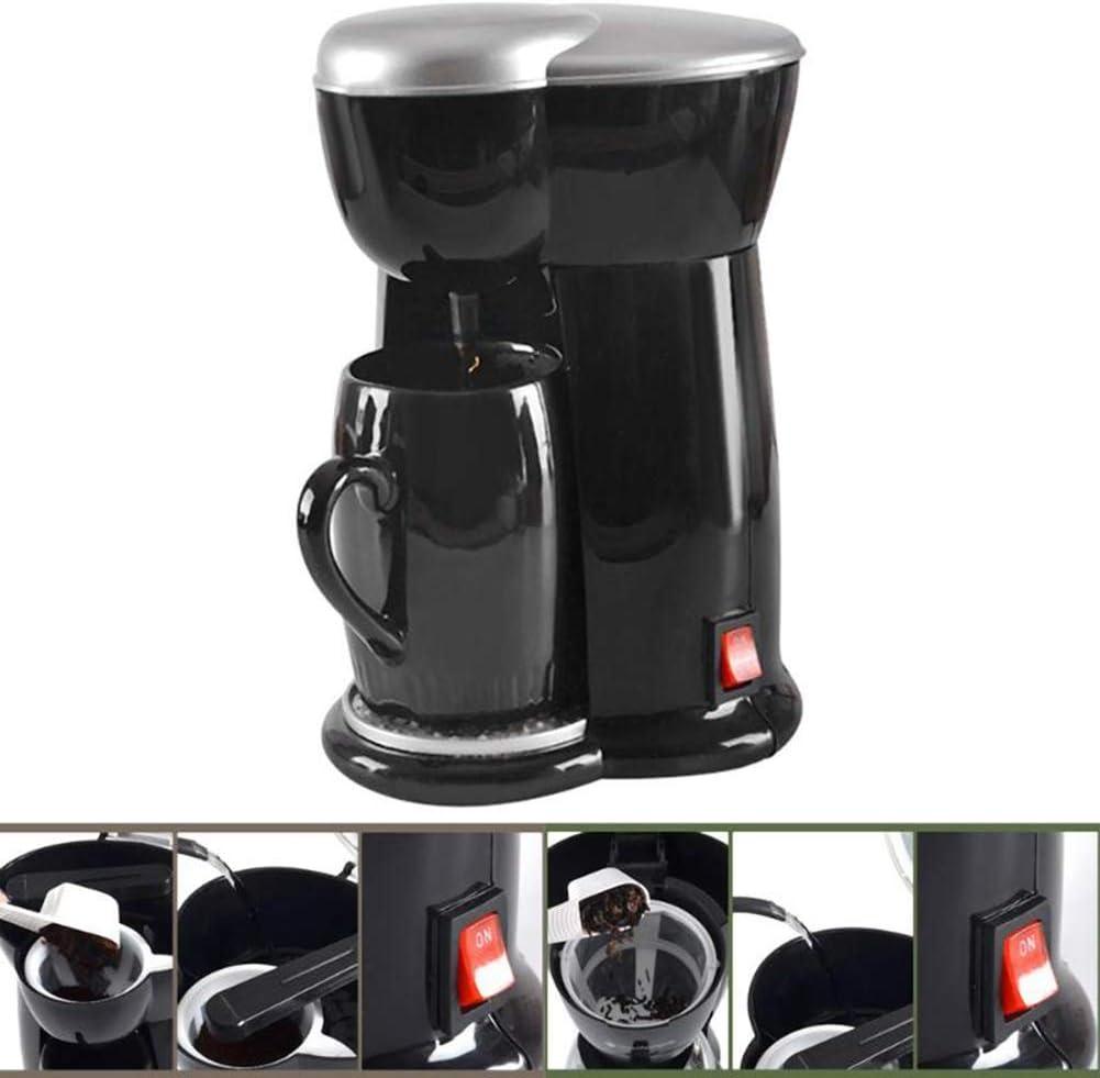 WXGZS Mini Cafetera Sola Máquina Espresso Cafetera 300W Cafeteras ...