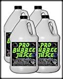 Froggys Fog - Pro Bubble Juice - Professional Bubble Fluid for All Bubble Machines and Bubblers - 4 Gallon Case