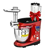 Litchi Cooking & Mixing Stand Mixer 7.4 Quart Multifunctional...