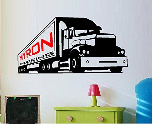 Semi Truck, with Custom
