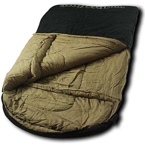 Wolftraders TwoWolves 0 Degree Premium Canvas Two Person Sleeping Bag