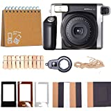 Fujifilm Instax Wide Instant Film for Fuji Instax Wide 210 200 100 300 Instant Photo Camera Includes Protective Case/Hanging Frames/Selfie Len/Photo Album and More