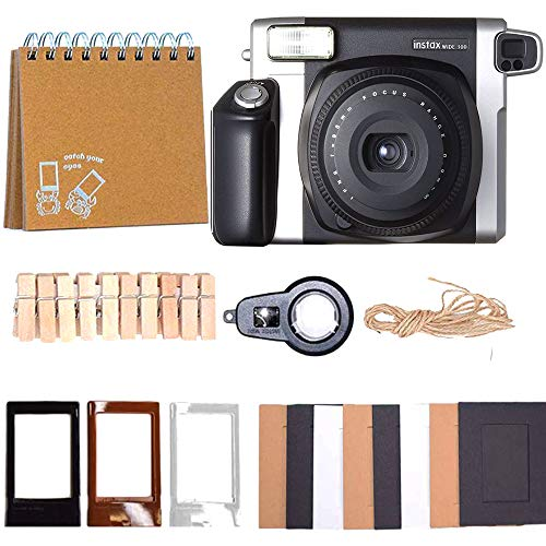 Fujifilm Instax Wide Instant Film for Fuji Instax Wide 210 200 100 300 Instant Photo Camera Includes Protective Case/Hanging Frames/Selfie Len/Photo Album and More from DEALS NUMBER ONE