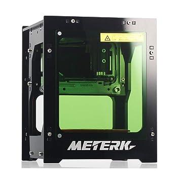 Meterk Máquina de Grabado Láser 1500mW Mini DIY Bluetooth USB ...