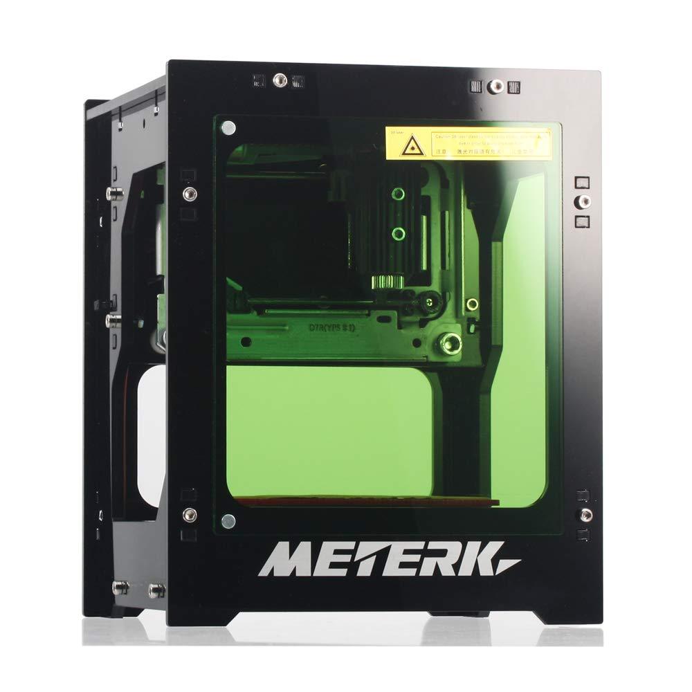 Meterk® Gravure Laser 1500mW Mini DIY Graveure Laser Bluetooth USB Sans fil Bluetooth4.0 pour IOS/Android/PC avec Alliage Shell Frame product image