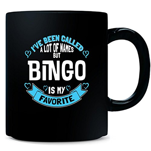 Bingo Is My Favorite Name As A Grandmother - Mug by My Family Tee