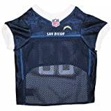 Pets First NFL San Diego Chargers Jersey, X-Small, My Pet Supplies