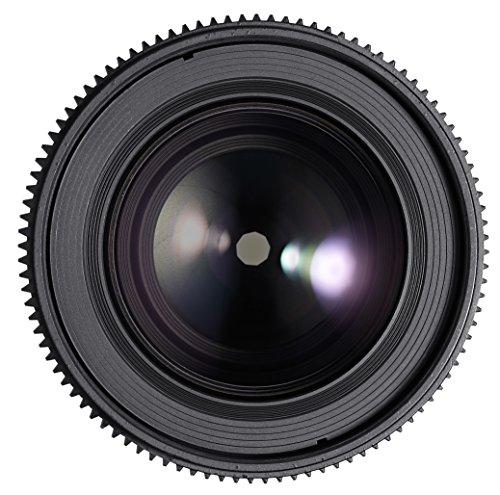 Rokinon DS 100mm T3.1 Frame Telephoto Macro Cine Lens for Canon EF Digital SLR