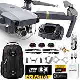 DJI Mavic PRO UPGRADE PLUS Kit w/ Backpack, Custom Bracket + Mount, Battery + Thor Charger, Lens Filters & More
