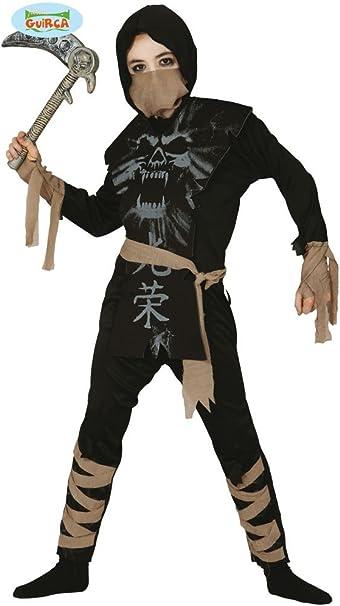 Guirca 83100 - Ninja Fantasma Infantil Talla 10-12 Años: Amazon.es ...