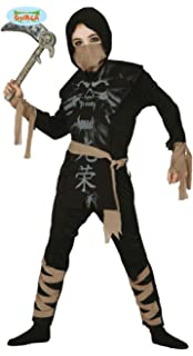 Partilandia Disfraz Ninja Zombie Gris para Hombre (S ...