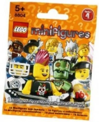 LEGO Minifigures Series 4 Hazmat Guy COLLECTIBLE Figure mysterious glowing goo airtight protective suit hi-tech equipment