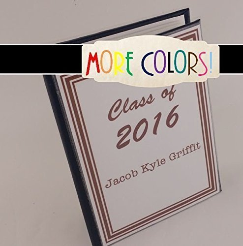 Senior photo album 037 4x6 or 5x7 High School Graduate photo album Senior Class picture book, Personalized highschool graduation gift, up to 100 pictures- MORE COLORS