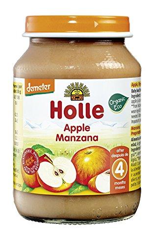 Holle Potito de Manzana (+4 meses) - Paquete de 6 x 190 gr - Total: 1140 gr: Amazon.es: Alimentación y bebidas