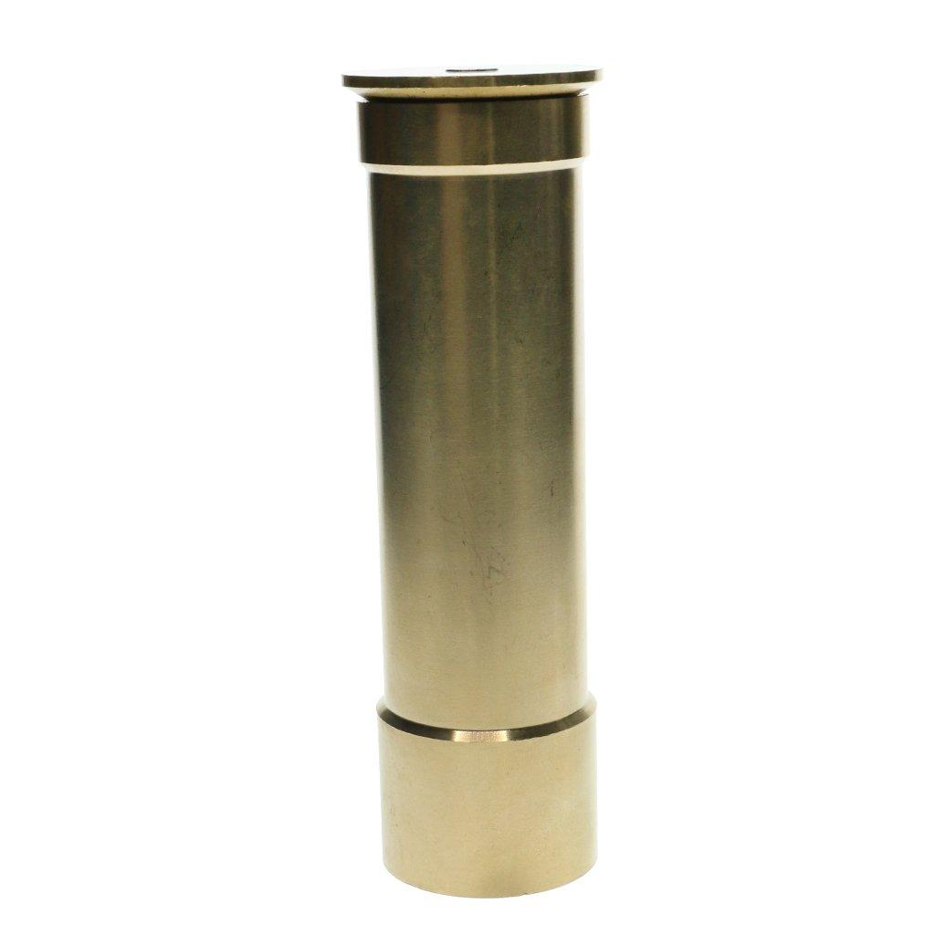 D DOLITY Trumpet Style Fountain Nozzle Garden Sprinklers Pond Fountain Water Nozzle Sprinkler Spray Head Gold - DN25